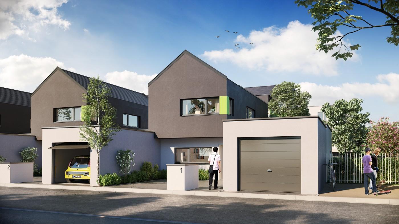 Maison neuve strasbourg beautiful wildenstein proche du for Prix maison neuf